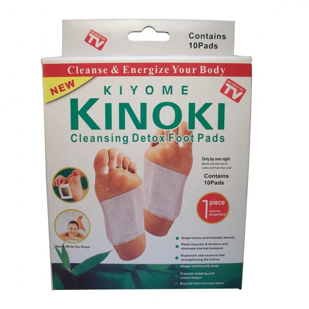 Kinoki lábtapasz 1 csomag (10 db) - Méregtelenítsd szervezetedet alvás közben is!