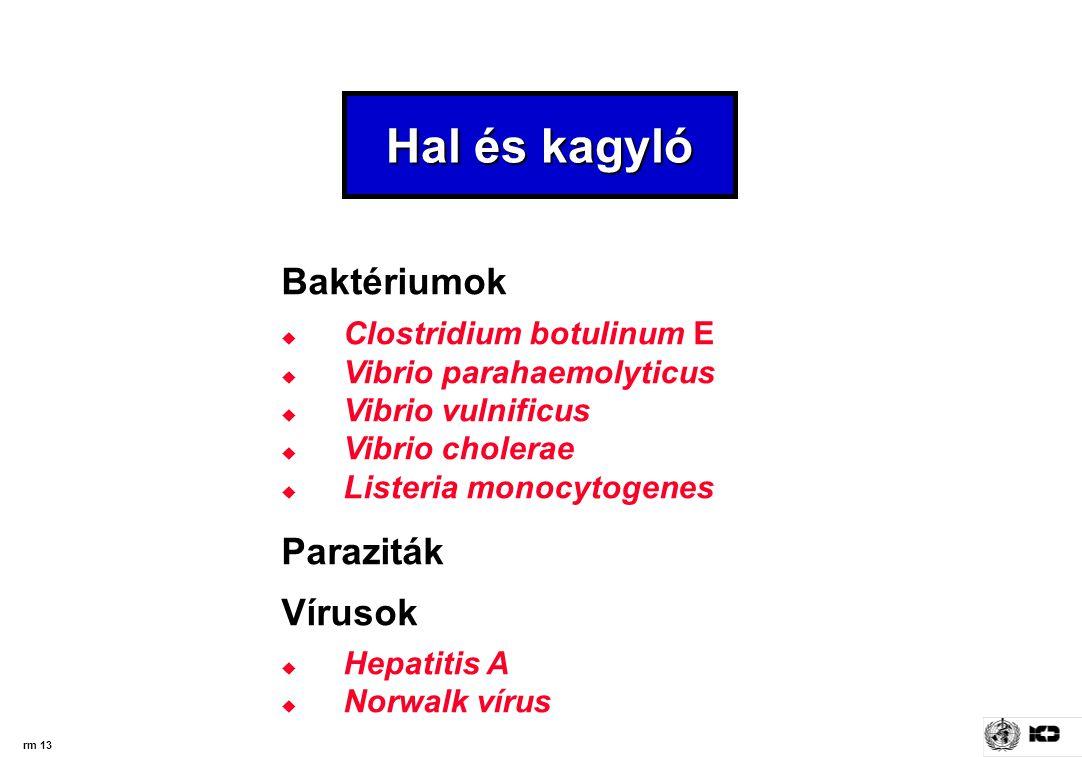 paraziták az élelmiszerellátásban)