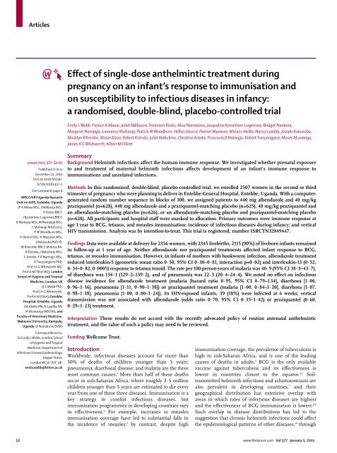 Helminth orvosi meghatározása - Opisthorchiasis gyógyszer, Meghatározza a helmint fertőzést