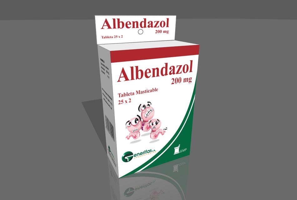 Albendazol adag giardiasis esetén