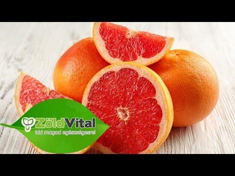 grapefruit esik a féreg belsejébe