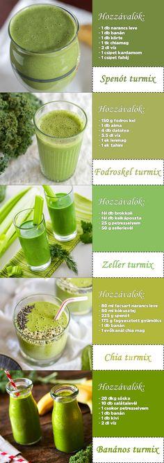 Zöld méregtelenítő | Receptek | gasztroABC
