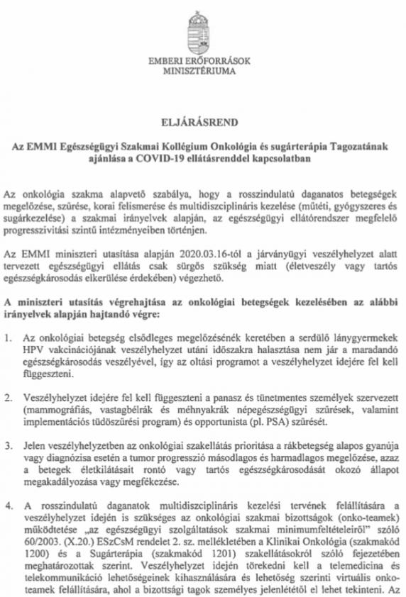 vastagbélrák kezelésére vonatkozó irányelvek