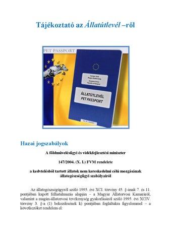 Féregtelenítés - Állatorvos, Állatpatika Sopron