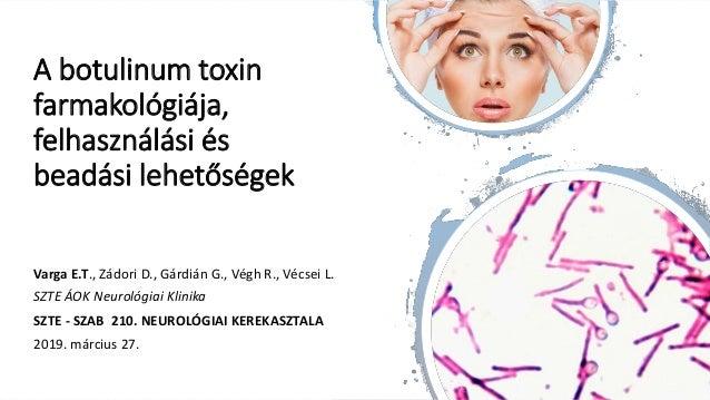 eredetű botulinum toxin)