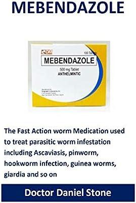 Giardia mebendazole