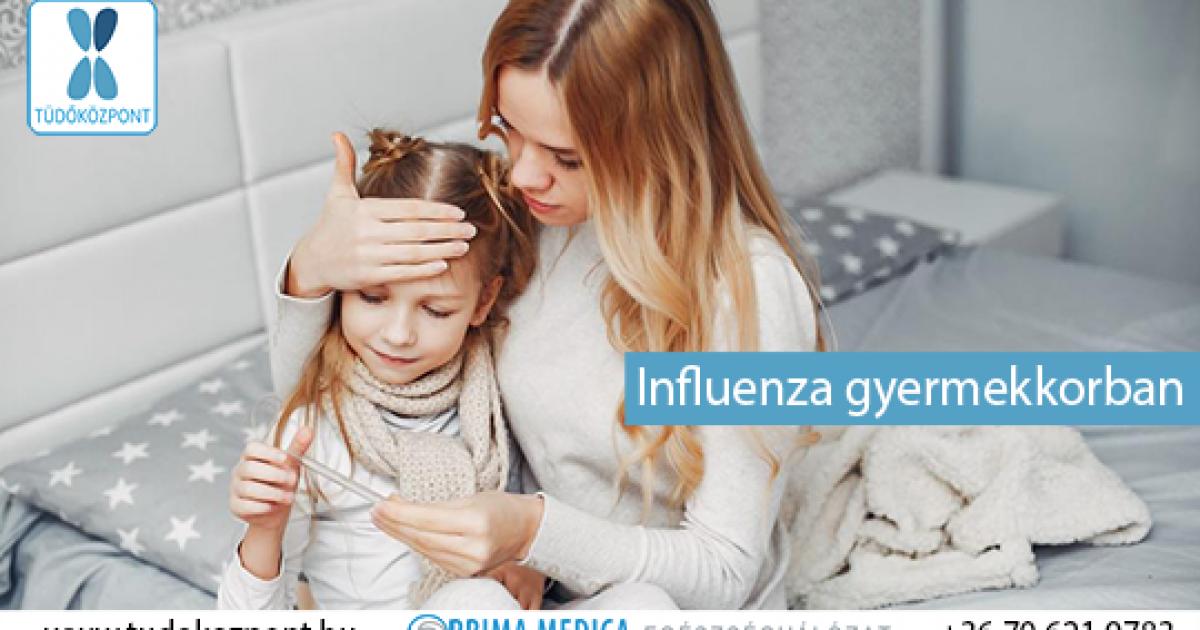 influenza kezelése gyermekeknél